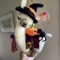 Halloween Llama Teddy Crochet Llama Handmade Toy