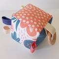 MILLY | Soft Sensory Cube | Montessori Toy | Baby Gift
