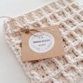 Handmade Reusable Eco Biodegradable Cotton Dishcloth/Pot Holder/Body Washer