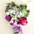 Woodland Faux Flower Girl Wand
