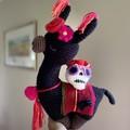 Halloween Llama Crochet Llama  Teddy Handmade Toy