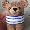 Crochet Monkey & Teddy Bear Twin Pack - Soft Toys