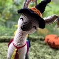 Halloween Llama Crochet Llama Llama Teddy Handmade Toy