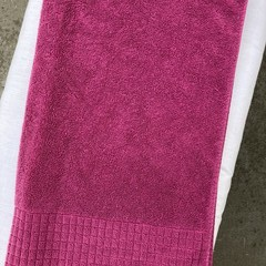 SALE/CLEARANCE: Fuchsia Personalised / Name Towel - Only 4 left!