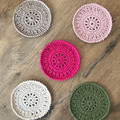 Coasters | Crochet | Set | Gift | Handmade | Cotton