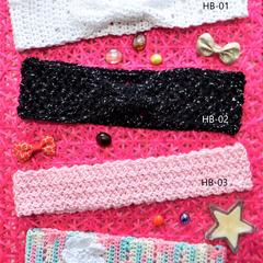 Crochet Cotton Headbands
