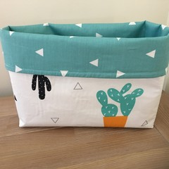 Fabric basket, storage basket, nursery decor, baby nursery, fabric choices