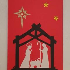 Christmas Card - 'Nativity Scene'