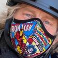 Marvel Print Face Mask