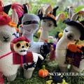Halloween Llamas Coming  Today Saturday September 19