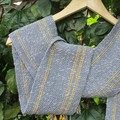 Merino and Cotton Handwoven Scarf