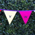 Teacher Gift - Alphabet Rainbow Bunting