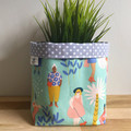 Small fabric planter | Storage basket | THE GIRLS