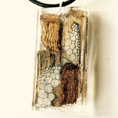 Cambium Bubbles - Eco Epoxy Pendant