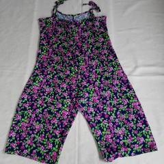 Womens Jumpsuit vintage fabric