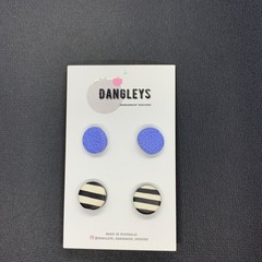 Twin pack Small Round Studs