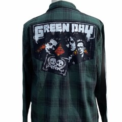 Green Day Flannel Size M