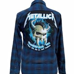 Metallica Flannel Size M