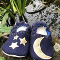 Indoor shoes/slippers - Moon and stars - size 11