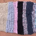 Upcycled Crocheted Foot Mat