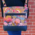 Protea Pop    - Crossbody Handbag