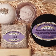Artisan Lavender Pamper Scrub Gift