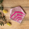 Small - Tasmanian Tiger Pet Bandana - Pink
