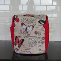 Thermomix Cover - Red Butterfly