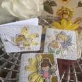 Fairy Gift cards:/ blank card/ friend card