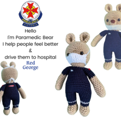 Paramedic Bear - from the Red George cuddle crew