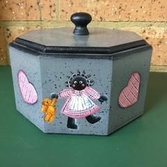 Small hexagonal  treasure box.