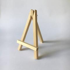Mini Wooden Easel stand for Desk calendar 12cm High