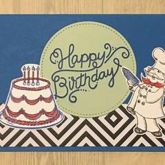 Birthday Card  - Chef