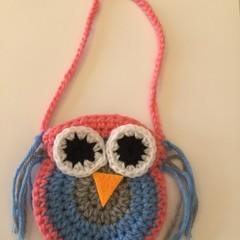 Child's owl bag