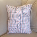 Australian handmade Memory Pillow Cover, Shirt Memory Pillow, Keepsake Pillow, B