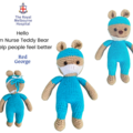 Nurse Teddy Bear - from the Red George cuddle crew
