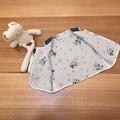Kid's open vest top waistcoat in denim & Mickey Mouse print