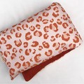 Heat Pillow - Peachy Leopard - Lavender Heat Pack