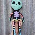 Skeleton doll, Handmade cloth toy
