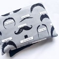 Heat Pillow - Mr Moustachio - Lavender Heat Pack