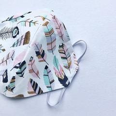 Fabric Face Mask - Washable - Feather Light
