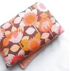 Heat Pillow - Purple Proteas - Lavender Heat Pack
