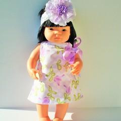 Dolls clothes Pillowcase dress for  38cm Miniland doll