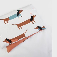 Heat Pillow - Sausage Dog Party - Lavender Heat Pack