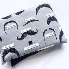 Heat Pillow - Mr Moustachio - Lavender Heat Pack