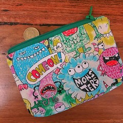 Coin purse - Monsters