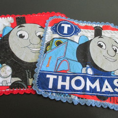 Thomas the tank Engine Face Washers