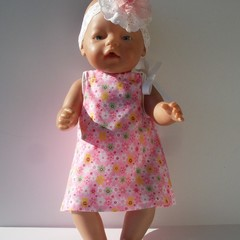 Dolls clothes to fit  Baby Born or 38cm Miniland doll