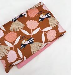 Heat Pillow - Florals and Fantails - Lavender Heat Pack