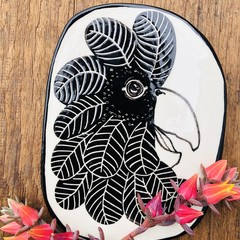 Wall Hanging  Black Cockatoo